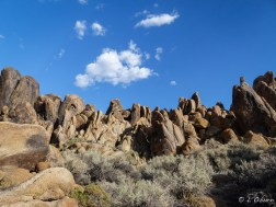 Rugged landscape of the Alabama Hills