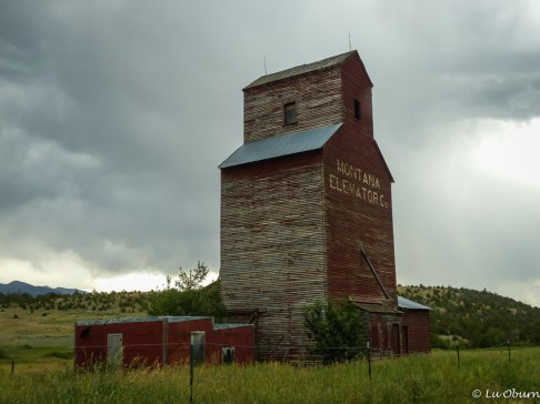 Just one of many character-filled old buildings around Bozeman