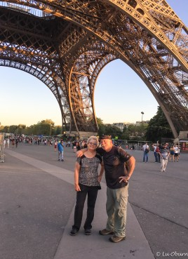 Margee & Frank at the Eiffel Tower