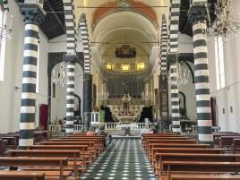 Inside St John the Baptist church