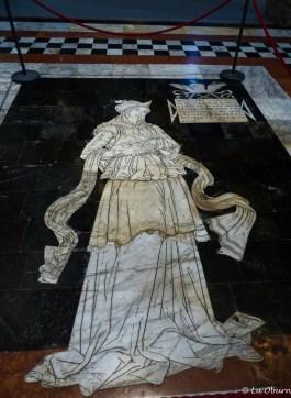 Marble floor scene