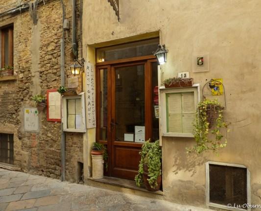 Ristorante Il Sacco Fiorentino - nondescript front but magic happens inside, especially the parpadelle with wild boar ragu.