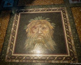 Beautiful floor mosaic