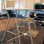 Vintage 60 S Step Stool Gets A Makeover Paint Yourself A Smile