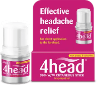 An image of 4head roll-on stick for headaches