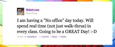 Tweet 1 No Office Day