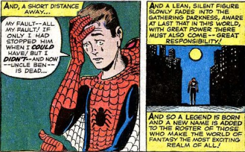 spiderman-With-Great-Power