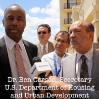 Carrfour hosts HUD Secretary Ben Carson for listening tour stop
