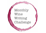 Ohhhh! And the shameless plug for the Monthly Wine Writing Challenge goes perfectly here, what with the round bottle stain and all. #MWWC27.