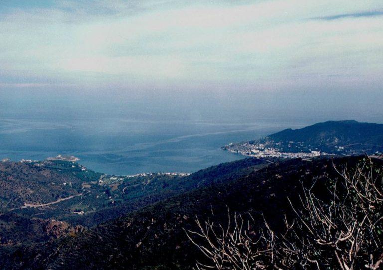 Vistas del Port de la selva