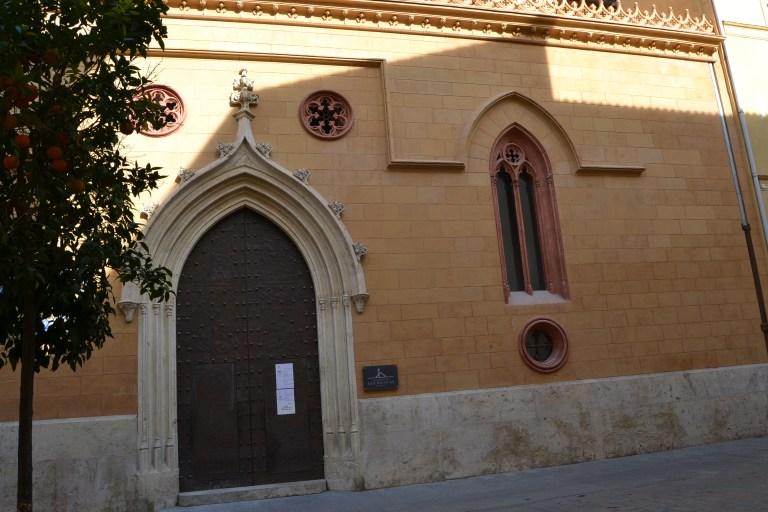 Fachada de la Iglesia de San Nicolás en Valencia