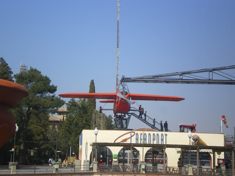 Atracciones en el Tibidabo