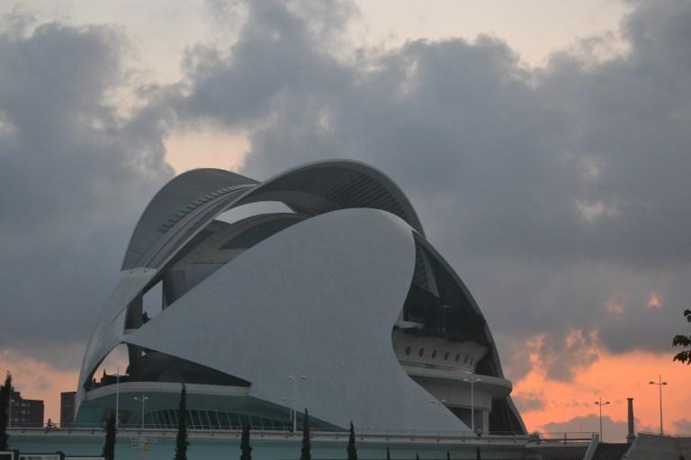 Palau de les arts en Valencia