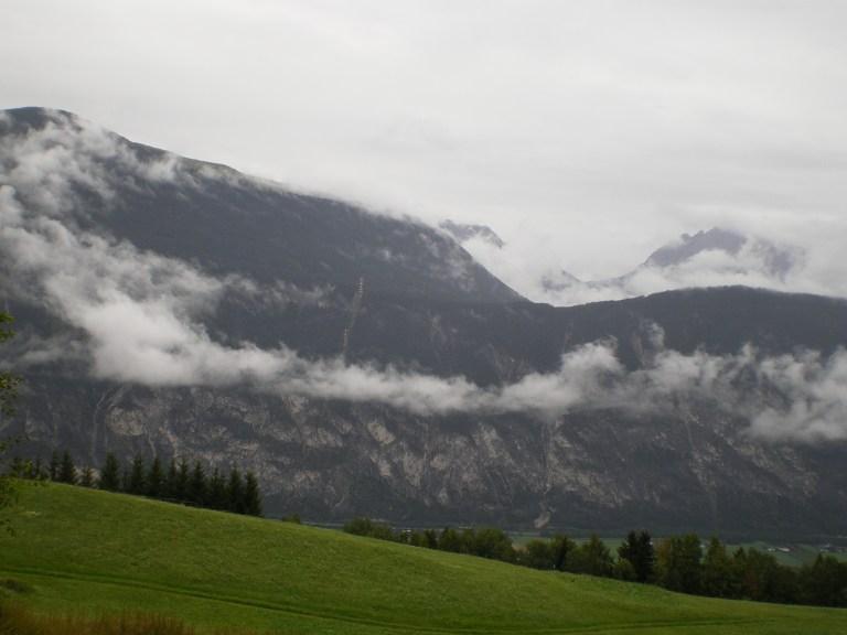 Paisaje del Tirol en Austria