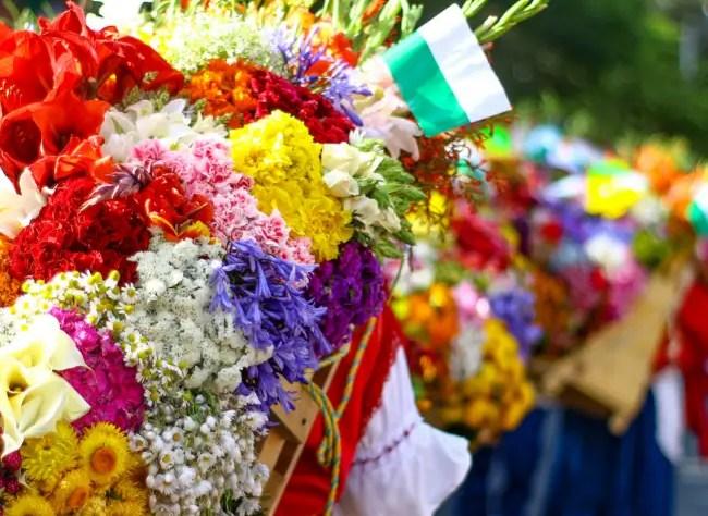 silletas feria de las flores