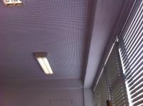 teto da sala substituido