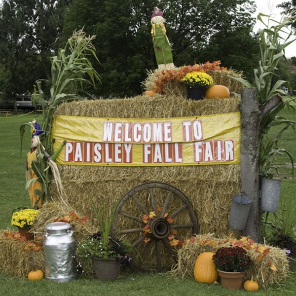 welcome to the paisley fall fair