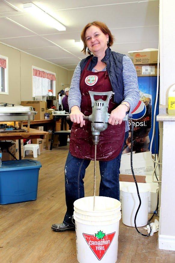 pancake batter mixer