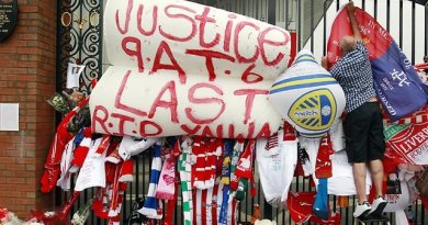 Liverpool Mark the 29th Anniversary of the Hillsborough Stadium Disaster