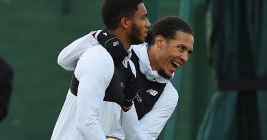 "Matip Fit for the Bench, Klopp Talks ""Cool"" Partnership Ahead of Palace Trip"