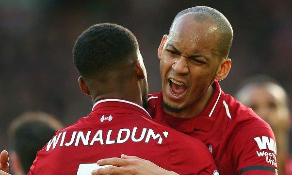 Fabinho Wijnaldum Liverpool