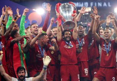 Mohamed Salah CL Trophy