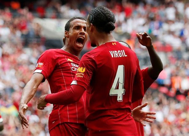 Matip and Van Dijk Liverpool