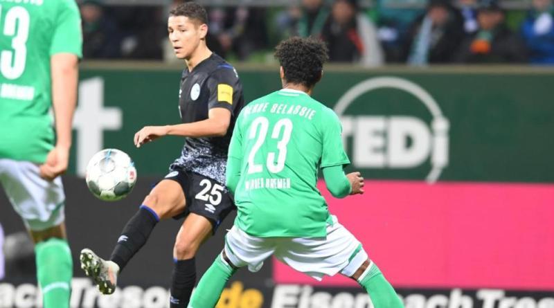 Amine Harit Schalke vs Werder Bremen