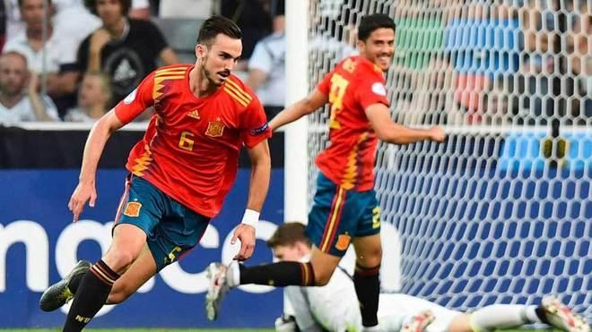 Fabian Ruiz of Spain and Napoli