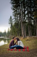 Engagement Photography - Campfire Engagement -Calgary Engagement - Cochrane Wedding Photographer -Banff Wedding Photography