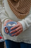 Hot Cocoa Engagement Photography - Calgary Wedding Photographer - Banff Engagement Photography - Banff Couple Photos - Cochrane Wedding