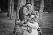 S'more Engagement Photography - Camping Engagement Photos - Calgary Wedding Photographer - Cochrane Engagement Photographer