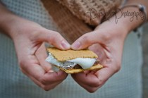 S'more Engagement Photos - Calgary Forest Engament Photography - Cochrane Wedding Photography