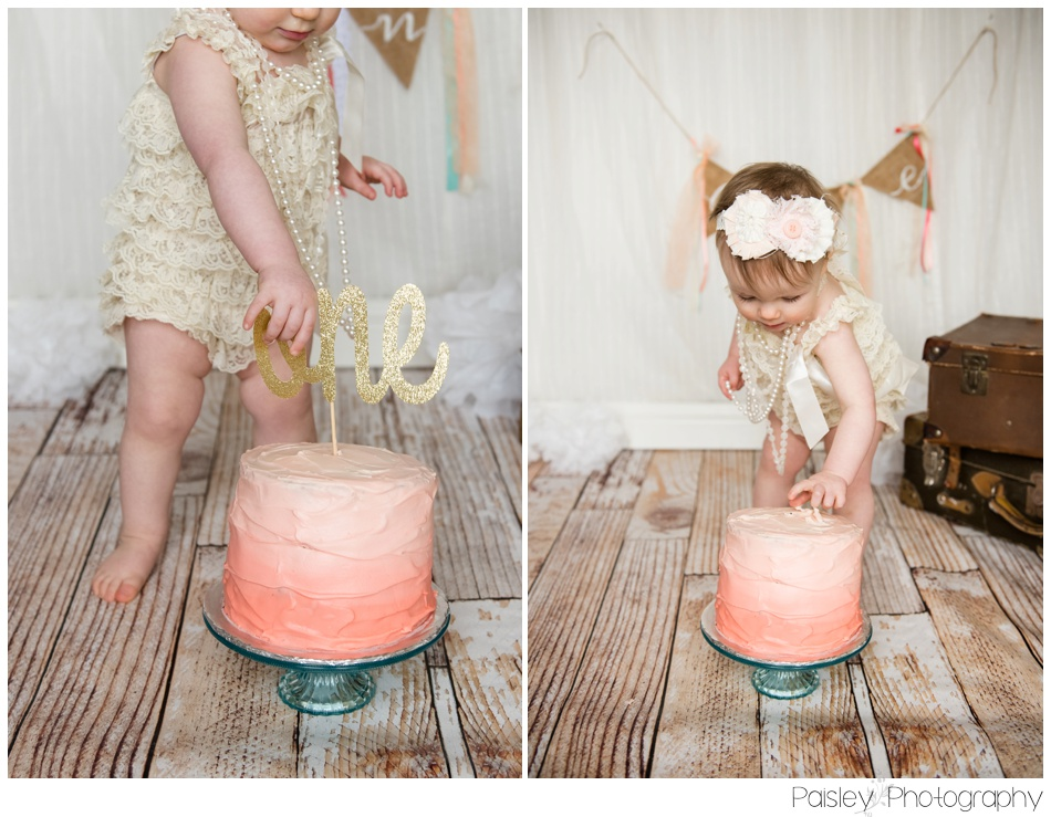 Cochrane Cake Smash Photography