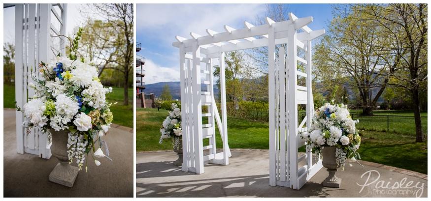 The Cove Lake Side Resort Wedding Kelowna