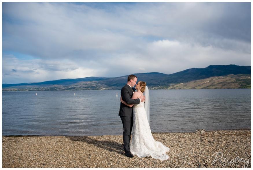 Kelowna Lake Side Resort Wedding Photography