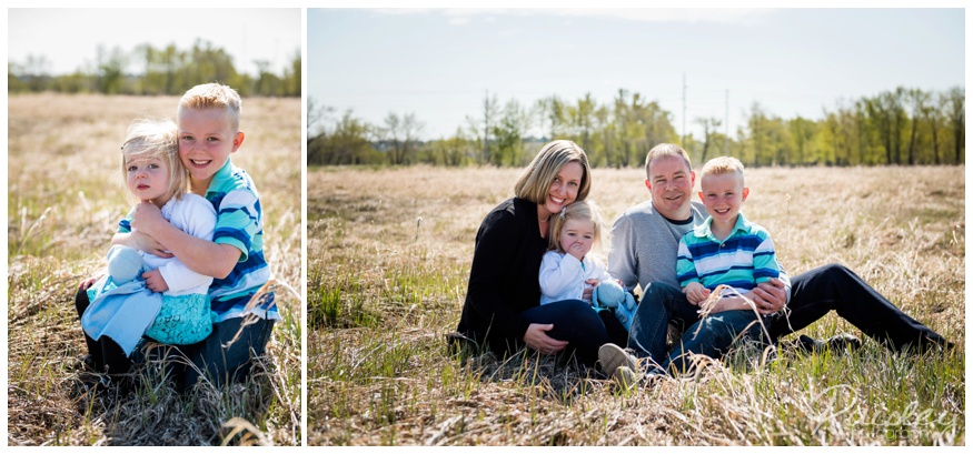 Spring Family Photography Calgary Alberta