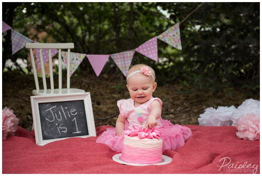 Cake Smash Photographer Cochrane