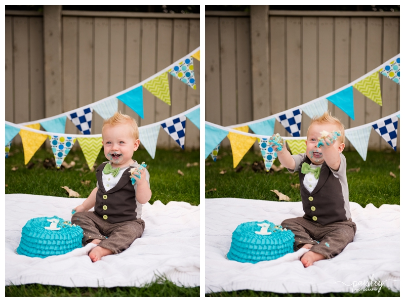 Okotoks First Birthday Cake Smash