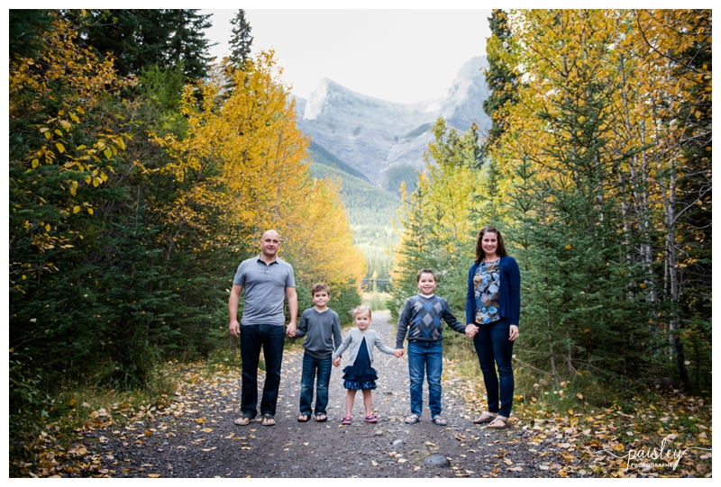 Canmore Extended Family Photography