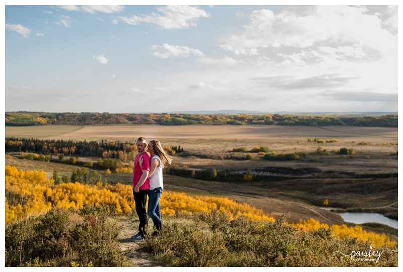 Glenbow Ranch Engagement Photos