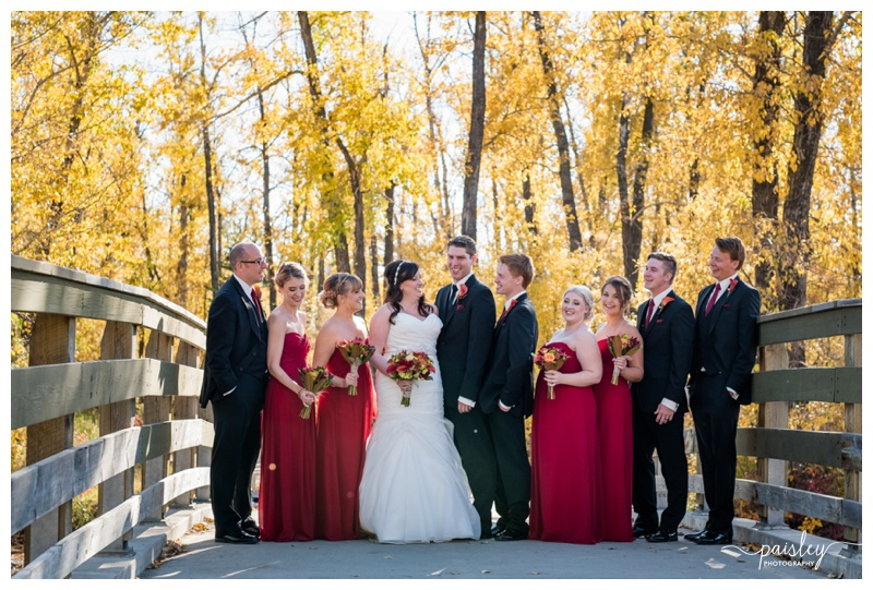 Calgary Fall Wedding Photography
