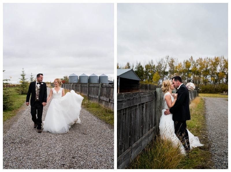 Calgary Barn Wedding