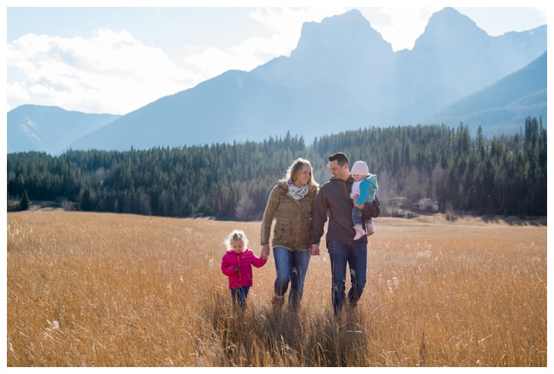 Family Photography Quarry Lake Canmore