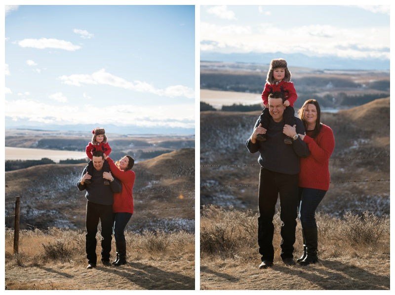 Glenbow Ranch Winter Family Photography