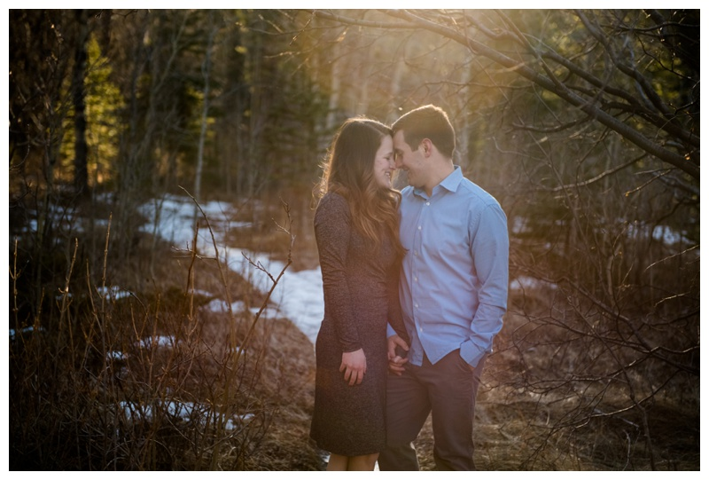 Barrier Lake Engagement Photos