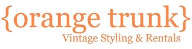Orange Trunk Vintage Styling Calgary
