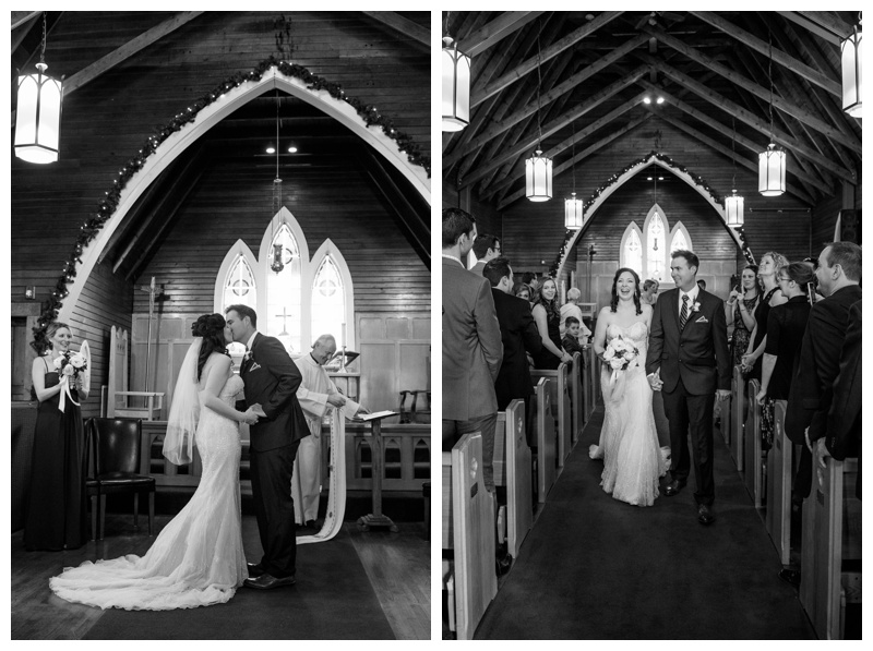 Canmore Church Wedding