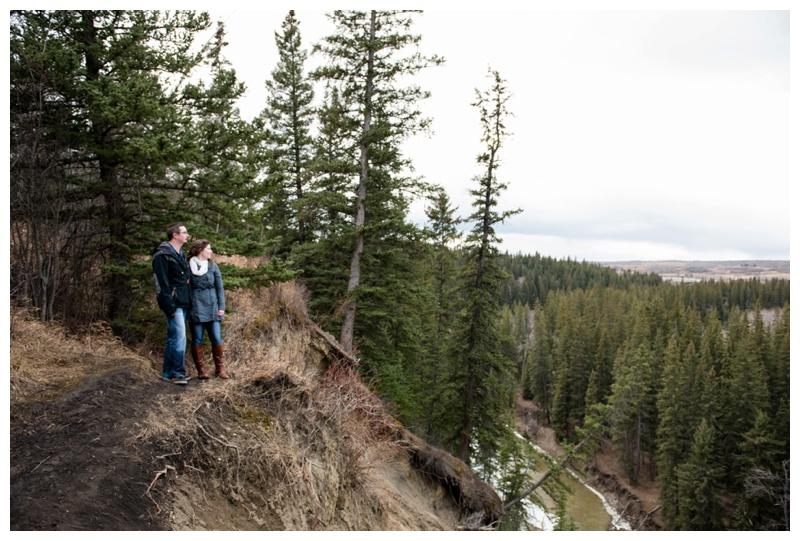 Calgary Fishcreek Park Engagement Photography