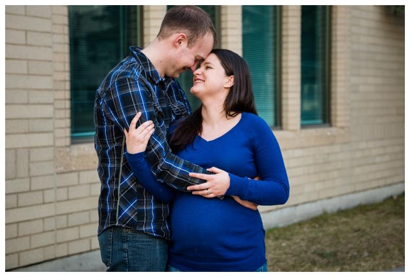 Mount Royal Maternity Photos Calgary